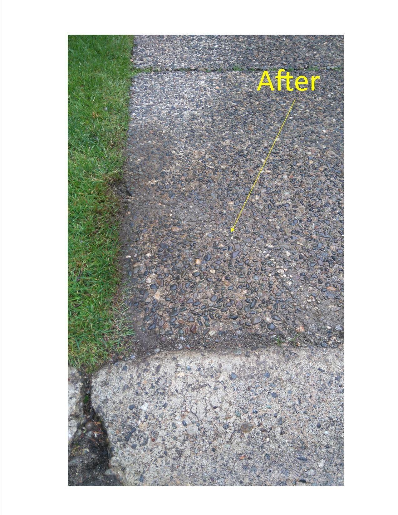 Concrete Crack repair after